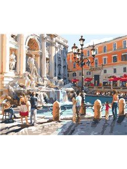 Картина по номерам Европейские каникулы КНО2152