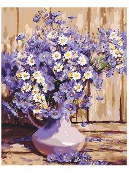 Картина по номерам Букет полевых цветов КНО3020