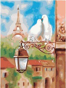 Картина по номерам Весна в Париже КНО2128