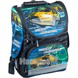 Ранець Tiger 1728R Nature Quest Collection Race Car yellow (boys)