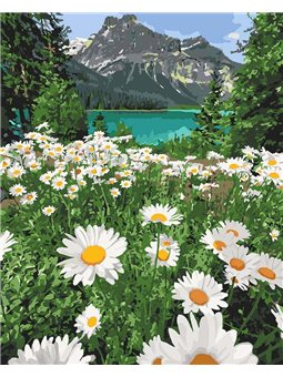 Картина по номерам Красота природы КНО2819