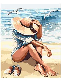 Картина по номерам Под пьянящим солнцем КНО2698