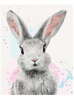 Картина по номерам Сахарный кролик КНО4067