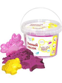 Набор для детского творчества «Умный песок 0,5 Розовый». SSR051