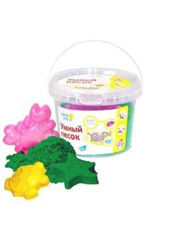 Набор для детского творчества «Розуний песок» Зеленый 0,5 SSR054