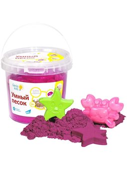 Набор для детского творчества «Умный песок 1 Розовый». SSR101