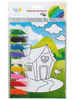 Набор для детского творчества «Картина из песка» TP1001V