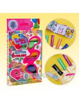 Набор теста для лепка TM LOVIN'DO Ассорти 6 цветов с глитером 41008