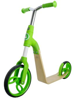 Спорт Jetson B01 Green 2 in 1 Беговел - Самокат 6468275