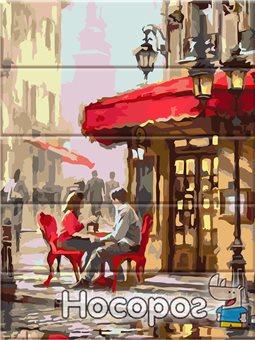 Картина по номерам в коробке Уличное кафе ASW062