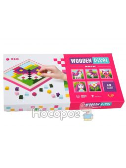 Мозаика «Wooden pixel 2»