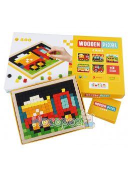 Мозаика «Wooden pixel 4»