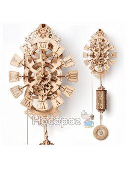 """Механічна сувенірно-колекційна модель """"Маятниковий годинник"""" Wood Trick Pendulum clock"""