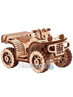 """Механическая сувенирно-коллекционная модель Wood Trick """"Квадроцикл ATV"""""""