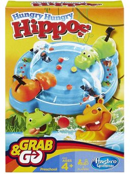 HUNGRY HUNGRY HIPPO GRAB AND GO B1001