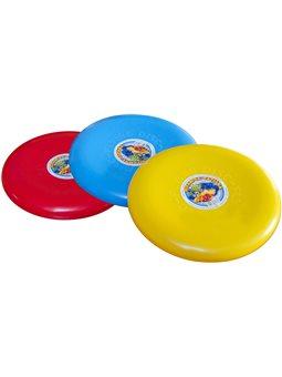 """Игрушка """"Летающая тарелка ТехноК"""" с наклейками. 2131"""