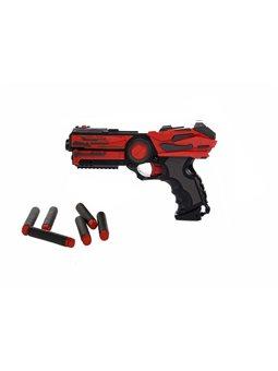 """Іграшкова зброя """"Бластер 6-зарядний"""" FJ806"""