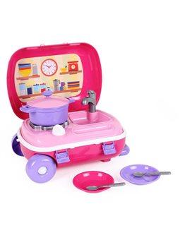 """Игрушка """"Кухня с набором посуды ТехноК"""" 6061"""