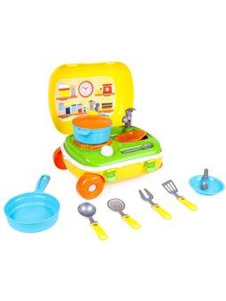 """Игрушка """"Кухня с набором посуды ТехноК"""" 6078"""
