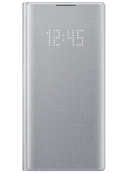 Чехол Samsung Note10/EF-NN970PSEGRU - LED View Cover Silver 6503002