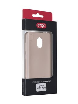 Чехол ERGO V551 Aura - Shiny Gold 6428366