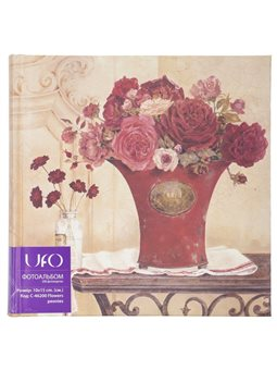 Фотоальбом UFO 10x15x200 C-46200 Flowers Peonies 6431501