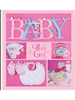 Фотоальбом EVG 20sheet Baby collage Pink w/box