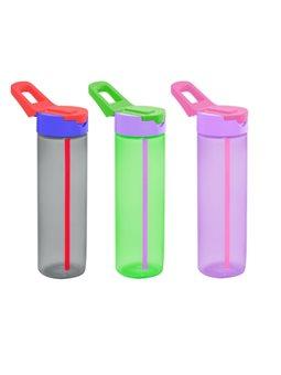 Бутылка для спорта с трубочкой HEREVIN SIMPLE 6417297