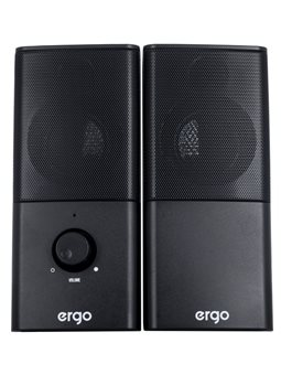 Мультимедийная акустика ERGO S-08 USB 2.0 Black 6381471