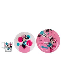 Набір дитячий LUMINARC DISNEY MINNIE COLORS, 3 предмета 6355281