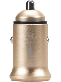 Зарядное устройство T-PHOX Zega 3.1A Dual USB Gold 6465764