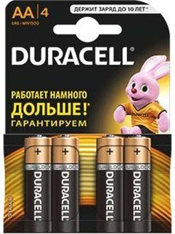 Батарейка Duracell LR06 MN1500 1x4 шт. 6409641