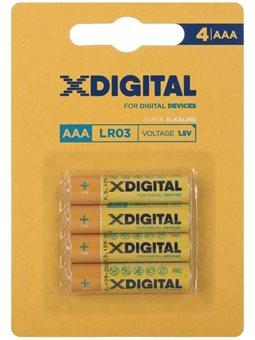 Батарейка X-DIGITAL LR 03 1x4 шт. 6409806
