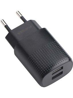 Зарядное устройство Puridea C03 Dual Black 6410537
