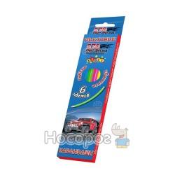 Карандаши цветные Kidis Wheel drive гибкие 7432