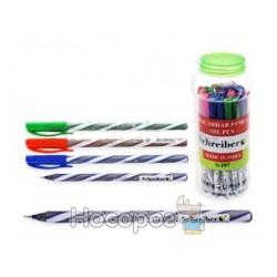Ручка SCHREIBER S-197 кулькова з чорнилами в банці (30/2400)