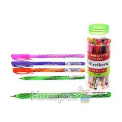 Ручка SCHREIBER S-198 кулькова з чорнилами в банці (30/2400)