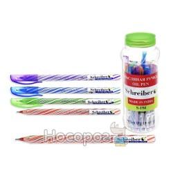 Ручка SCHREIBER S-194 кулькова з чорнилами в банці (30/2400)