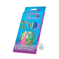Олівці кольорові Kidis Princess world 7425