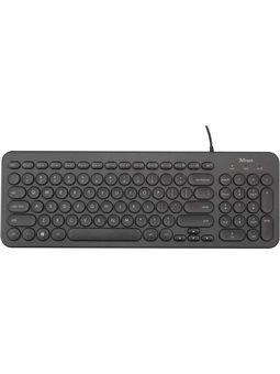 Клавиатура Trust Muto Silent 6460173