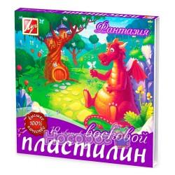 """Пластилин восковой Луч """"Фантазия"""" 12 цветов"""