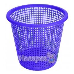 Урна для мусора Эталон пластиковая синяя