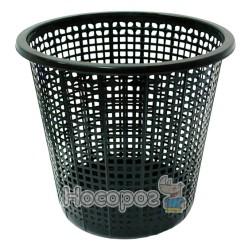 Урна для мусора Эталон пластиковая черная
