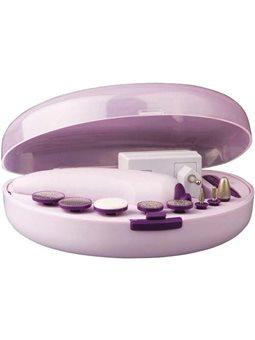 Набір для манікюру и педикюра Maxwell MW-2601 Pink 5818659