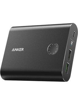 Зарядное устройство Anker PowerCore + 13400 mAh with QC3.0 Black 6448841
