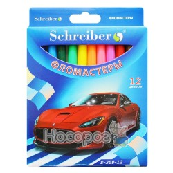 Фломастеры SCHREIBER S-358-12