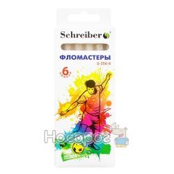 Фломастеры SCHREIBER S-356-6