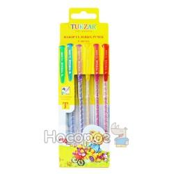 Ручка в наборе гель TZ-5208-6