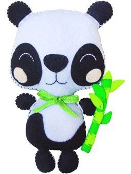 Набор, создай игрушку из фетра, панда Коди, ROSA KIDS N000235