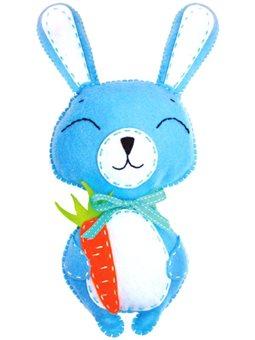 Набор, создай игрушку из фетра, зайчонок Банни, ROSA KIDS N000237